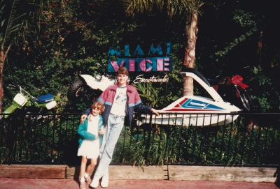 Original Miami Vice props at Universal Studios
