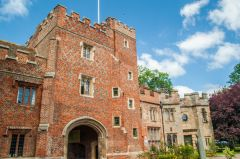 Nigel had been to Buckden Towers today in search of The Manor of Hail Weston