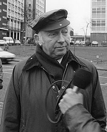 Arthur Scargill in later life