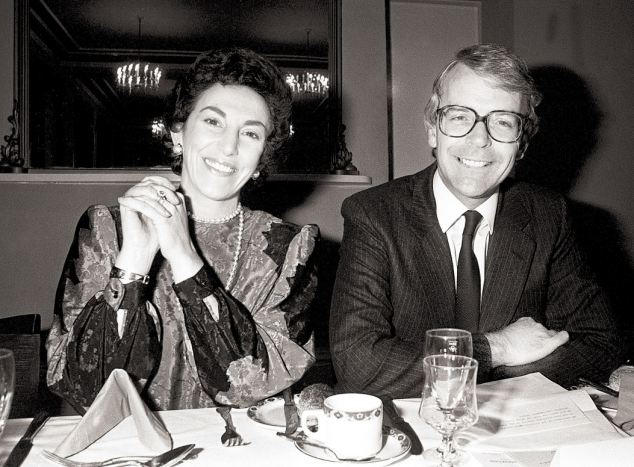 Edwina Currie heading into controversy over the NHS, eggs during a secret illicit affair with John Major