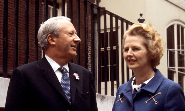 Ted Heath criticises Margaret Thatcher over Europe