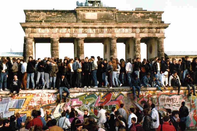 The Fall of the Berlin Wall in December 1989