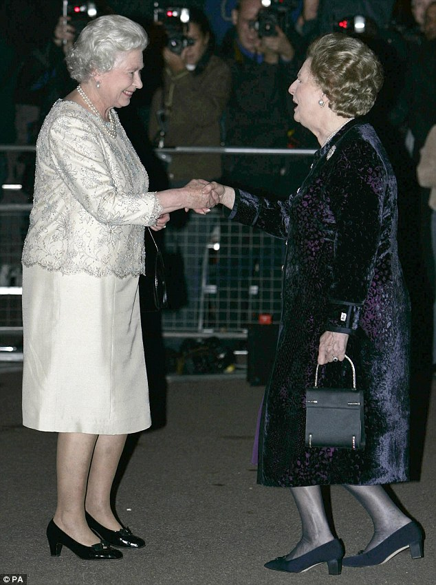 Obdurate Thatcher ignores HM The Queen's advice