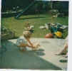 Della's 2nd birthday party, July 1986