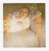 Baby Debbie on the settee Summer 1979