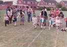 Debbie at Little Paxton school sports day - 1982