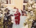 Debbie in her snow-suit 1982