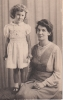 Freda & Mum Grace, Aug 1945