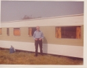 Freda's dad Fred at mobile home