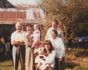 Four generations of Freda's family, Devon 1986