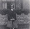Freda in school uniform