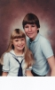 Portrait of Daniel with Debbie 1985