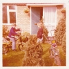 Daniel on his bike in Gordon Road front garden Autumn 1976