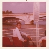 Me on a Bateaux Mouche, Paris, September 1975