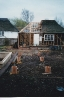 Garage extension and underpinning early 1997
