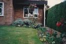 Hayling View front garden outside my office window 1993