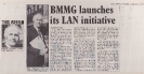 13th  March 1985 BMMG LAN initiative launched - Electronics Weekly