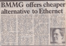 BMMG offering cheaper alternative March 1985