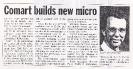 Press cuttings, Aug-Sep 1984
