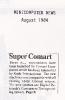 Super Comart, Minicomputer News Aug 1984