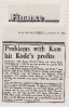 Kode profits falter 12th September 1984 Electronics Weekly
