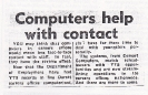 Comart and YTS scheme - Bournemouth Evening Echo 10th May 1984