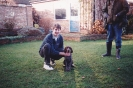 Sam as a puppy, 1993-94